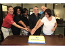 Celebrating 10 years of Kids at Hope in St. Lucie County! Michael Hitsman, Principal Weatherbee Elementary; Shaniek Maynard, Executive Director, Roundtable; Sheritta Johnson, City of Fort Pierce Risk Manager; Rick Miller, KAH Founder; Vern Melvin, Guardian ad Litem; and bLinda Bartz, City Commissioner.