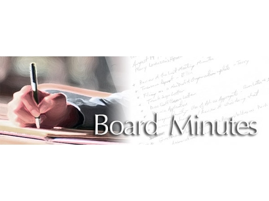roundtable of saint lucie county board meeting minutes